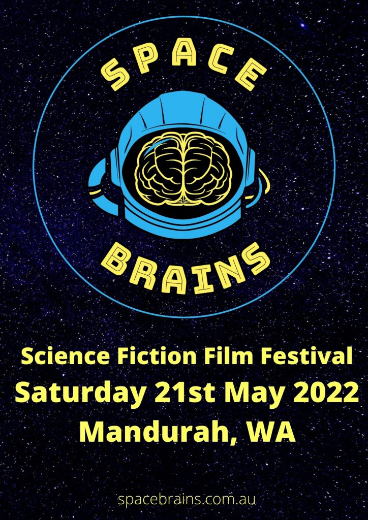 space brains film festival poster